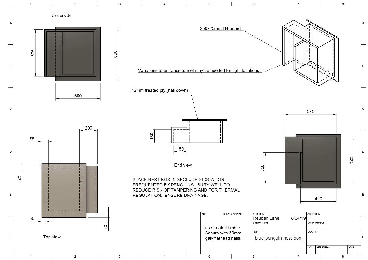Nest box plan