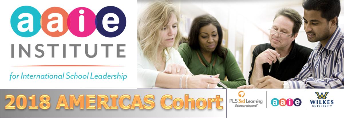 Announcing The 2018 Americas Cohort Aaie International School