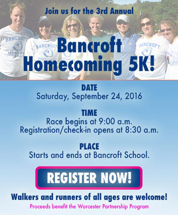 Bancroft Homecoming 5K!