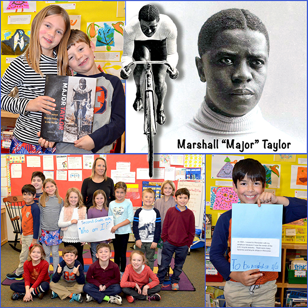 2nd Grade Mystery Person - Major Taylor