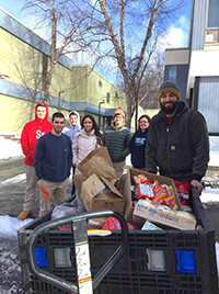 Worcester Food Bank Picking Up Donations