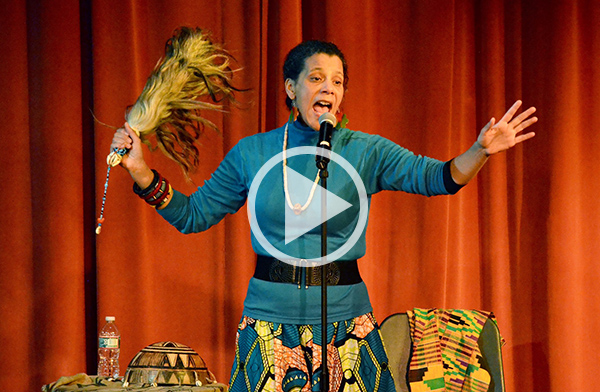 Storyteller Valerie Tutson - Click for Video