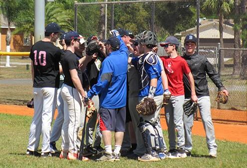 Varsity Baseball In Fla.