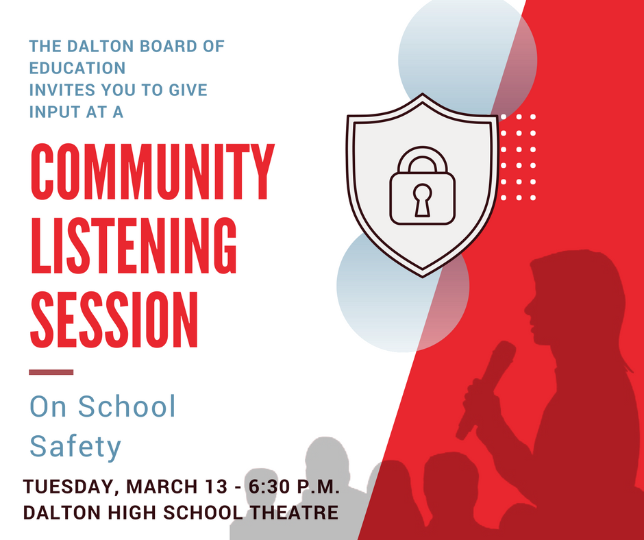 Community Listening Session on School Safety