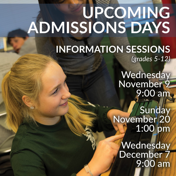 Admissions Days