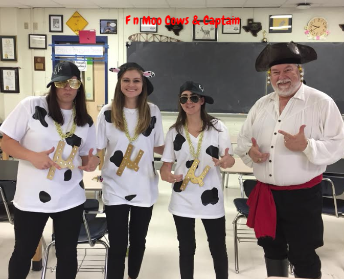 F n Moo Cows and Captain