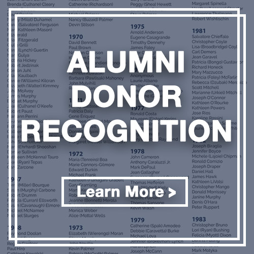 Alumni Donor Recognition