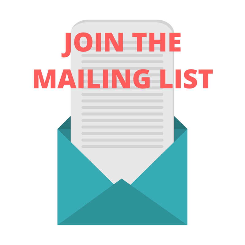 Join the Newsletter Mailing List