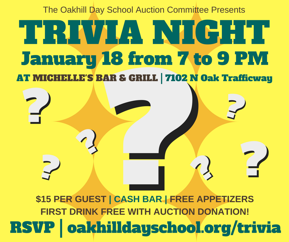 Trivia Night Information