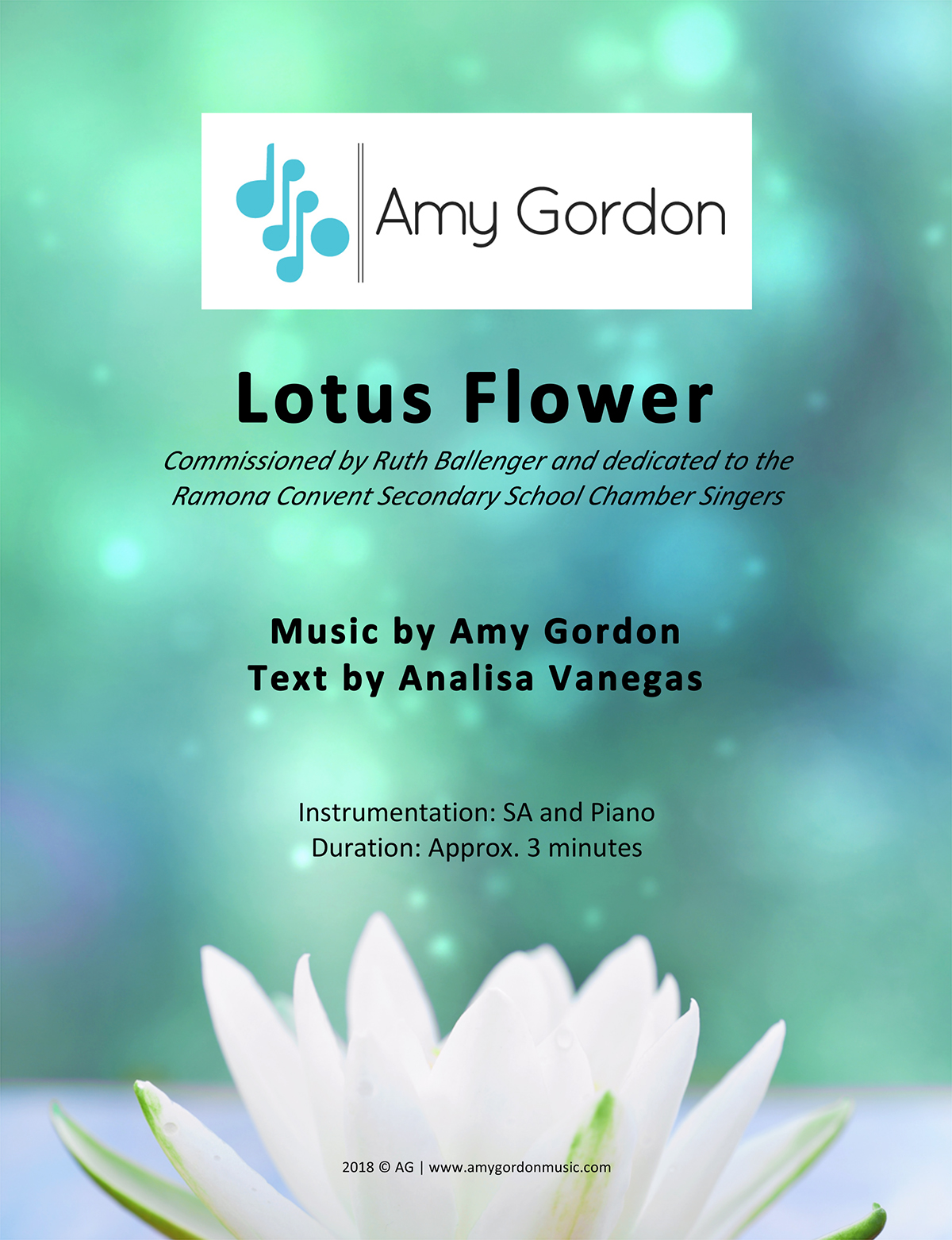 Rcss newsletter volume 10 issue 27 were thrilled to announce that our chamber singers will be performing the world premiere of a new piece lotus flower which was commissioned by ms izmirmasajfo