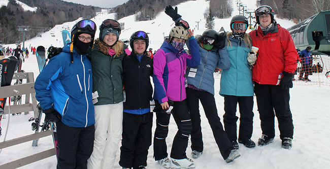 Fifth-Form Ski Weekend