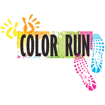 Color run image