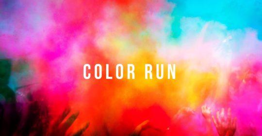 Color run image