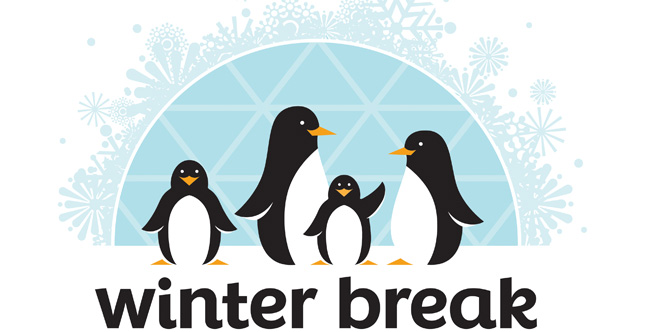 Winter Break Penguin clipart