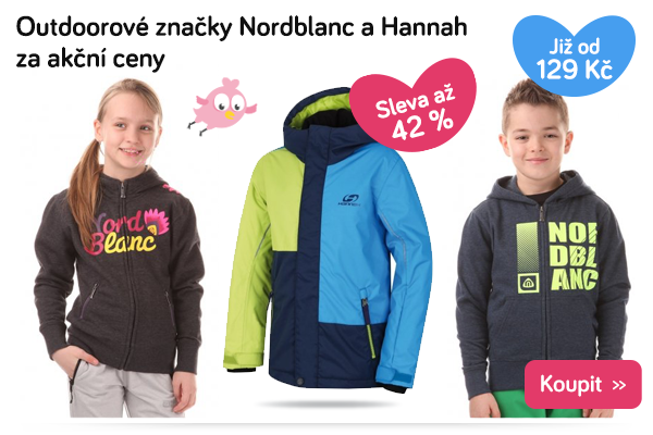Dětské oblečení Nordblanc a Hannah