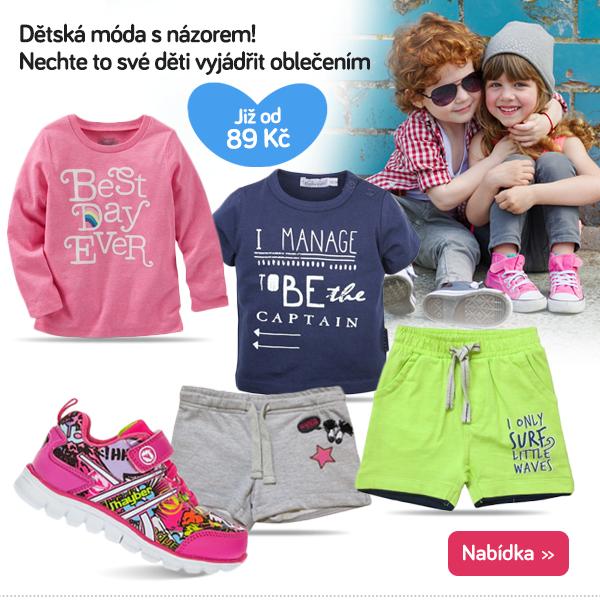 Dětské oblečení s potiskem