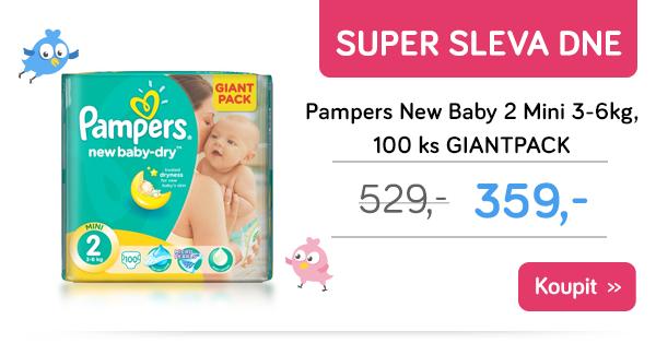 Plenky Pampers New Baby 2 Mini