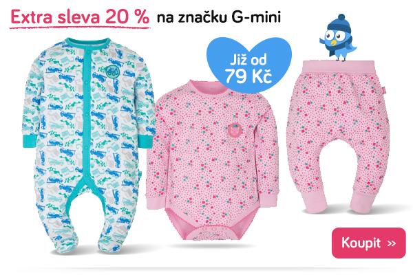 Dětské oblečení G-mini