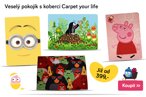 Dětské koberce Carpet your life