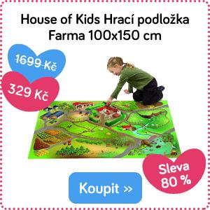 Hrací podložka House of Kids Farma
