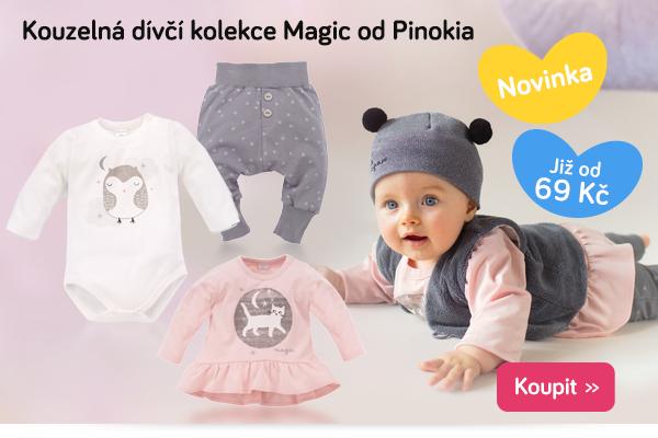 Dětské oblečení Pinokio Magic