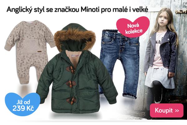 Dětské oblečení Minoti
