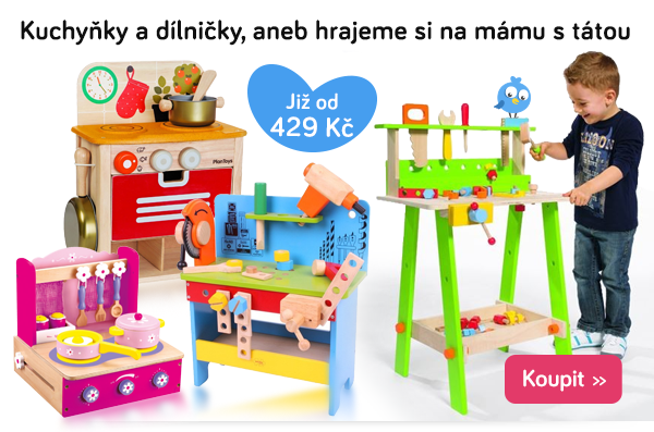 Dětské kuchyňky a dílničky