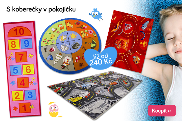 Dětské hrací koberce