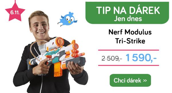 Nerf pistole Modulus Tri-Strike