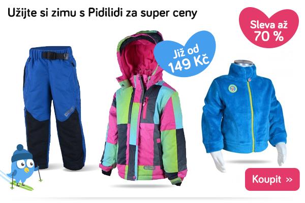 Dětské zimní oblečení Pidilidi