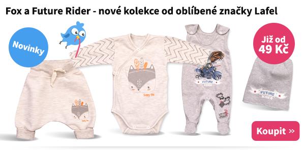 Dětské oblečení Fox a Future Rider