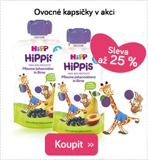 Dětské ovocné kapsičky Hipp