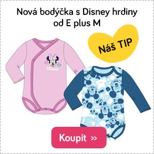 Dětská body E plus M Disney