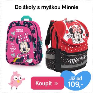 Školní taška Minnie