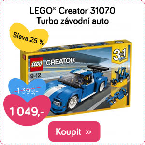 LEGO Creator Turbo závodní auto