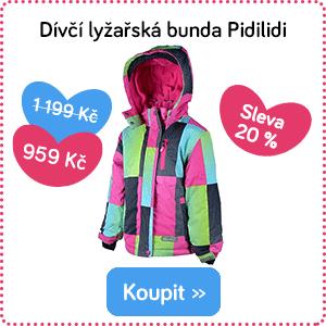 Dětská lyžařská bunda Pidilidi