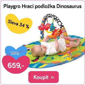 Hrací podložka Playgro Dinosaurus