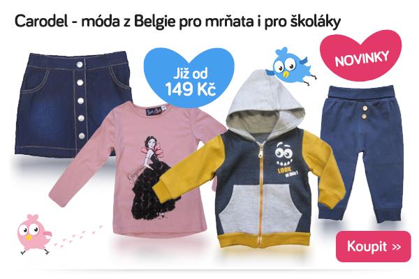 Dětské oblečení Carodel