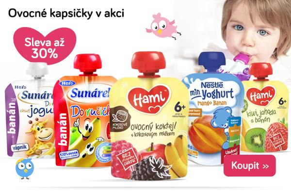 Dětské ovocné kapsičky
