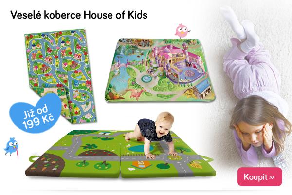 Dětské koberce House of Kids