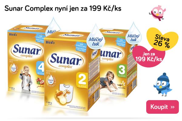 Mléko Sunar Complex