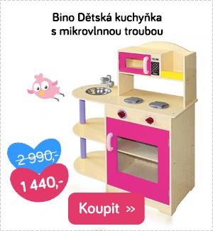 Bino dětská kuchyňka dřevěná