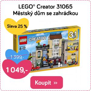 LEGO Creator Městský dům se zahrádkou