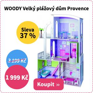 Plážový dům pro panenky Woody Provence