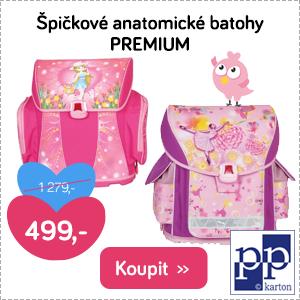 Anatomické batohy Premium