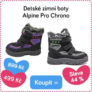 Dětské zimní boty Alpine Pro Chrono