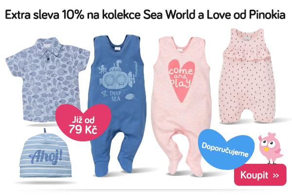 Dětské oblečení Pinokio Sea World a Love