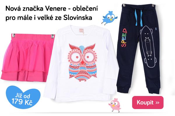 Dětské oblečení Venere