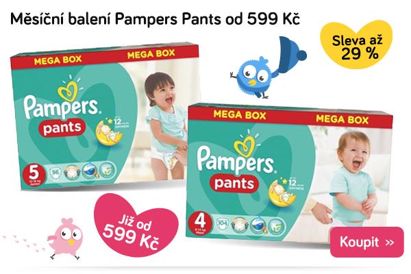 Plenkové kalhotky Pampers Pants