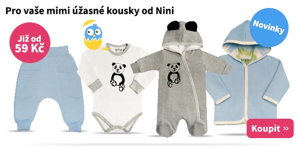 Oblečení pro nejmenší Nini